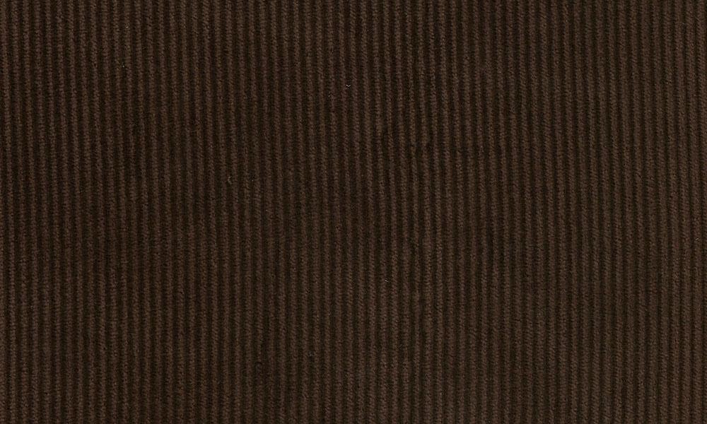 Fløjl Polyester-Bomuld Brun