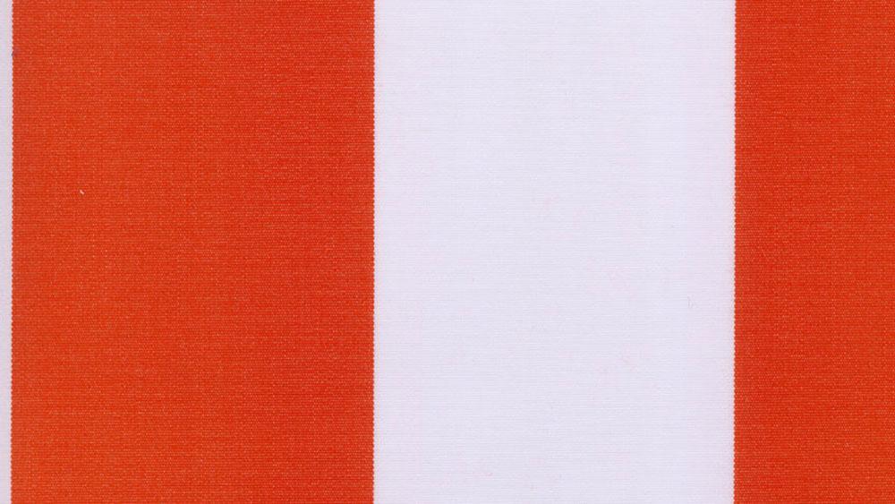 Blokstribet markisedug/solafskærmning Orange 059