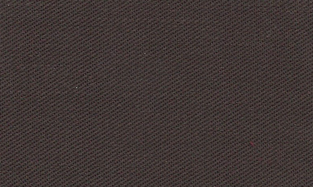 Polyester-Bomulds-Twill Brun