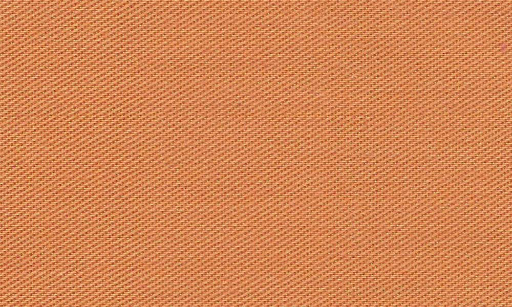 Polyester-Bomulds-Twill Orange