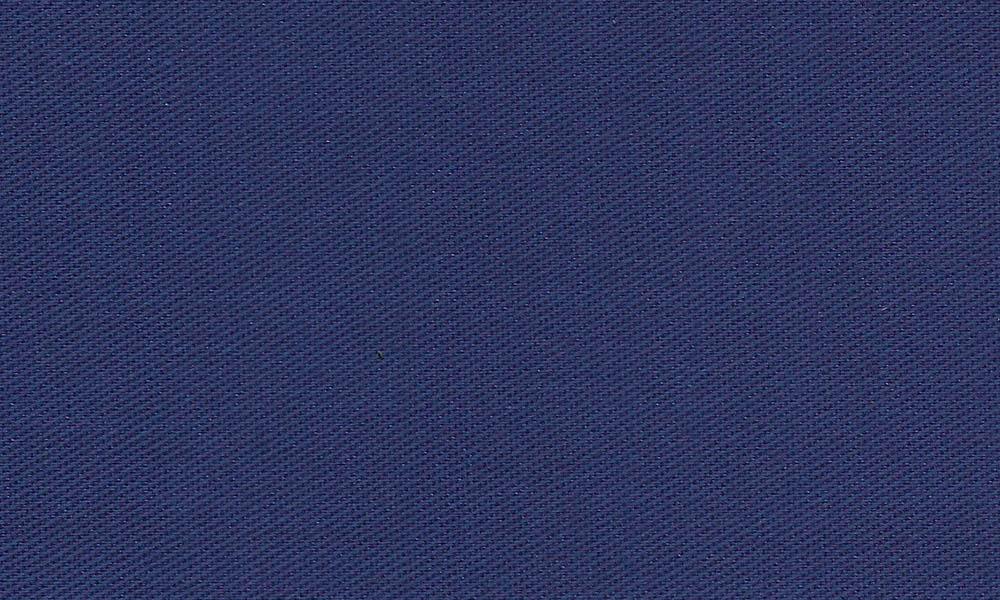 Polyester-Bomulds-Twill Blå
