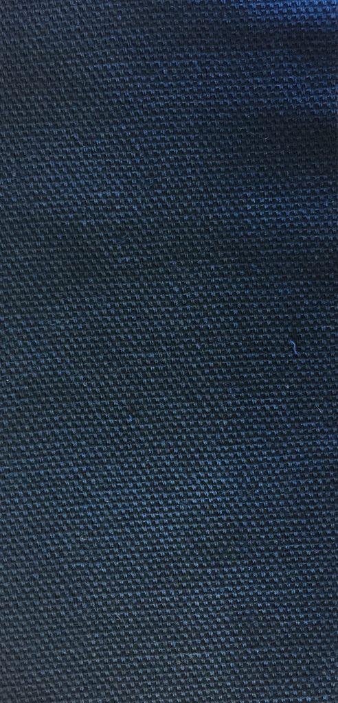Bomuldscanvas mørkeblå