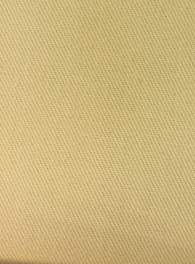 Polyester-Bomulds-Twill Beige