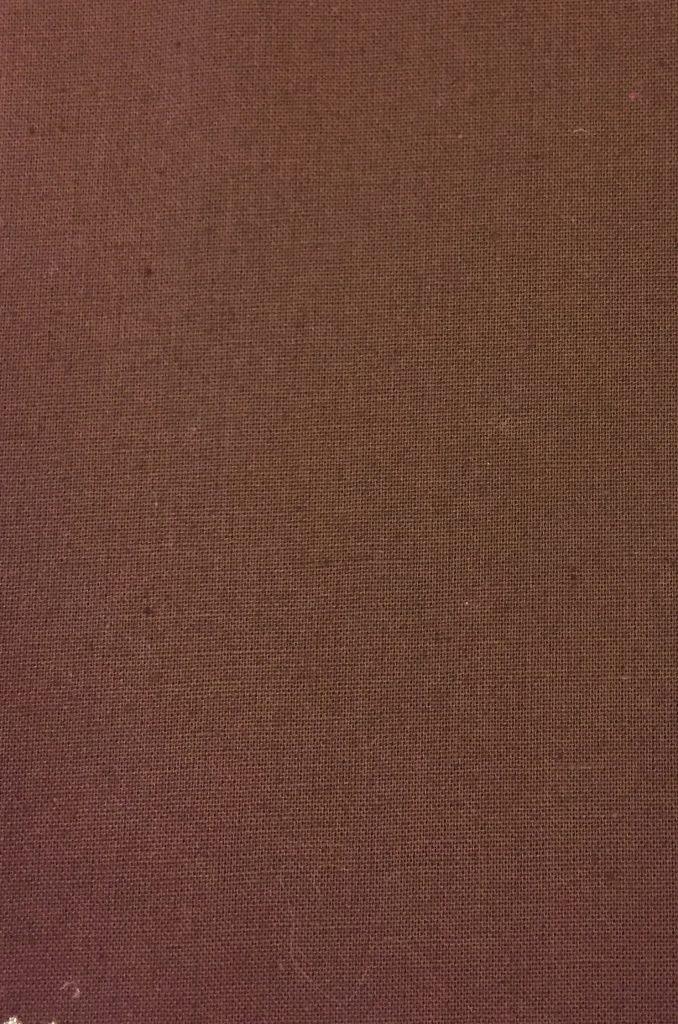 Bomuldsstout mørkebrun økotexcertifikat