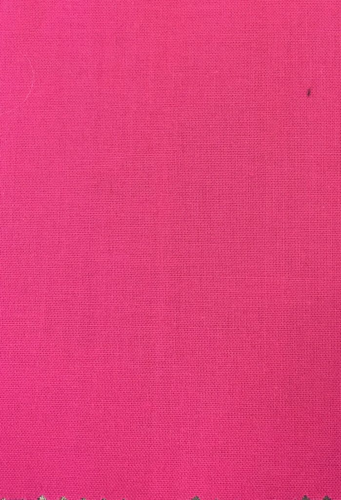 Bomuldsstout pink økotexcertifikat