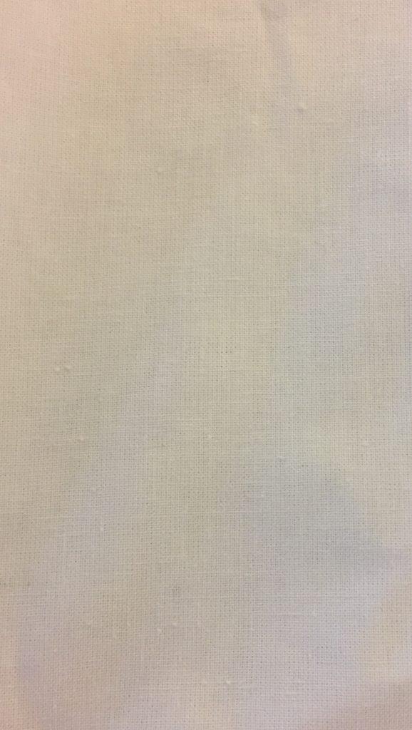Bomuldsstout dubleret hvid/bleget