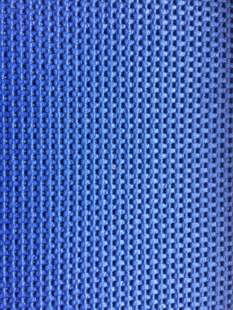 Fitness tæppe blå