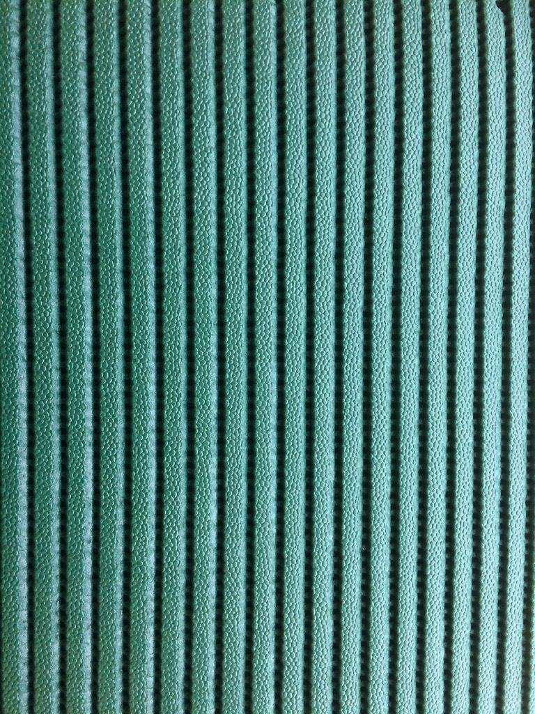 Skum- og fitness/måtte tæppe grøn