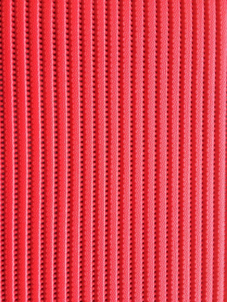 Skum- og fitness tæppe/måtte rød