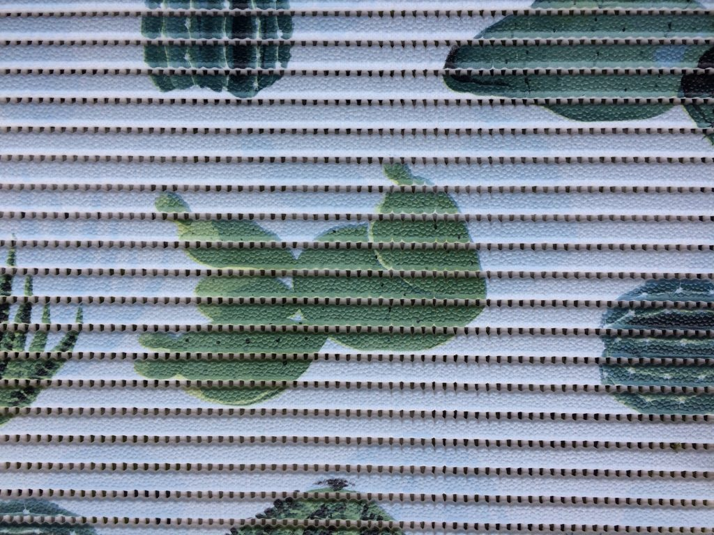 Skumtæppe kaktus