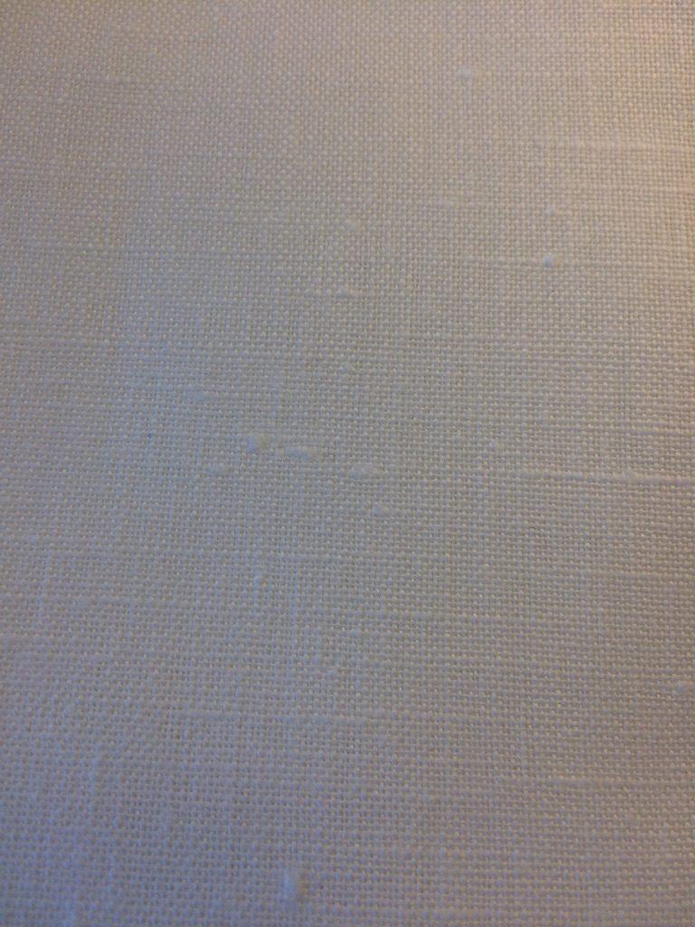 Hørlærred optisk hvid blødgjort Økotex