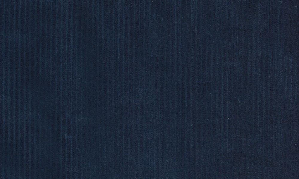 Fløjl Polyester-Bomuld Blå