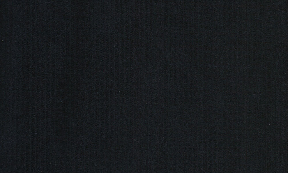 Fløjl Polyester-Bomuld Marineblå