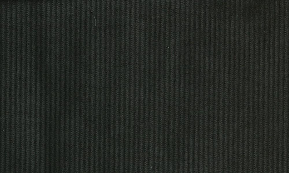 Fløjl Polyester-Bomuld Sort