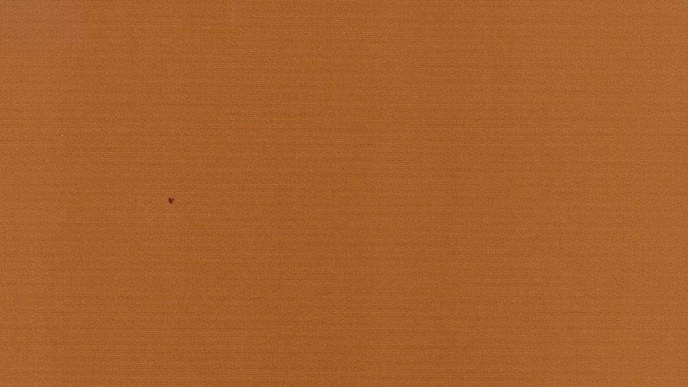 Brun orange ensfarvet markisedug, solafskærmning