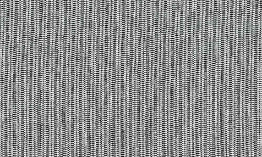 Madrasbolster blå/grå stribet