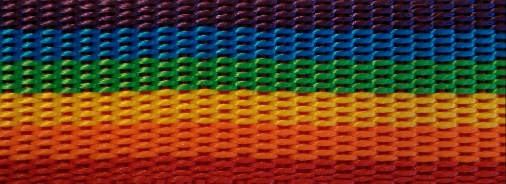 Regnbue polypropylengjord