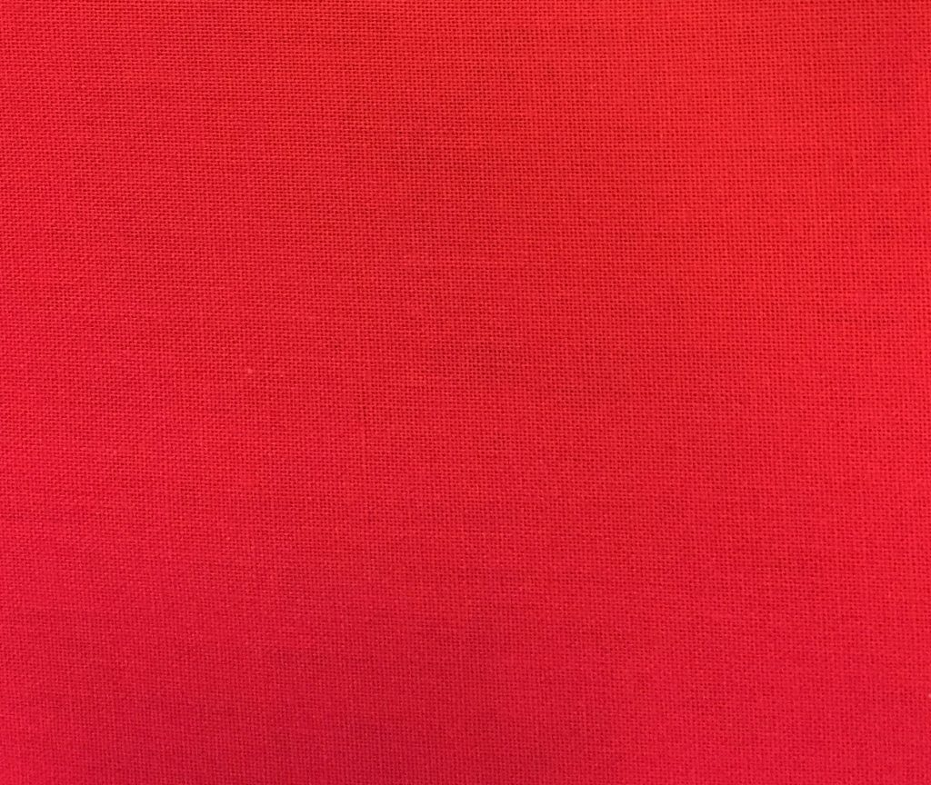 Bomuldsstout rød økotexcertifikat