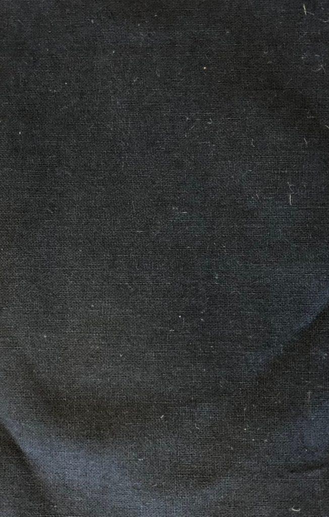 Bomuldsstout sort brandimprægneret