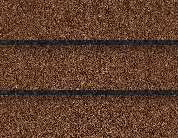 Kunstigt græs beige m/sort