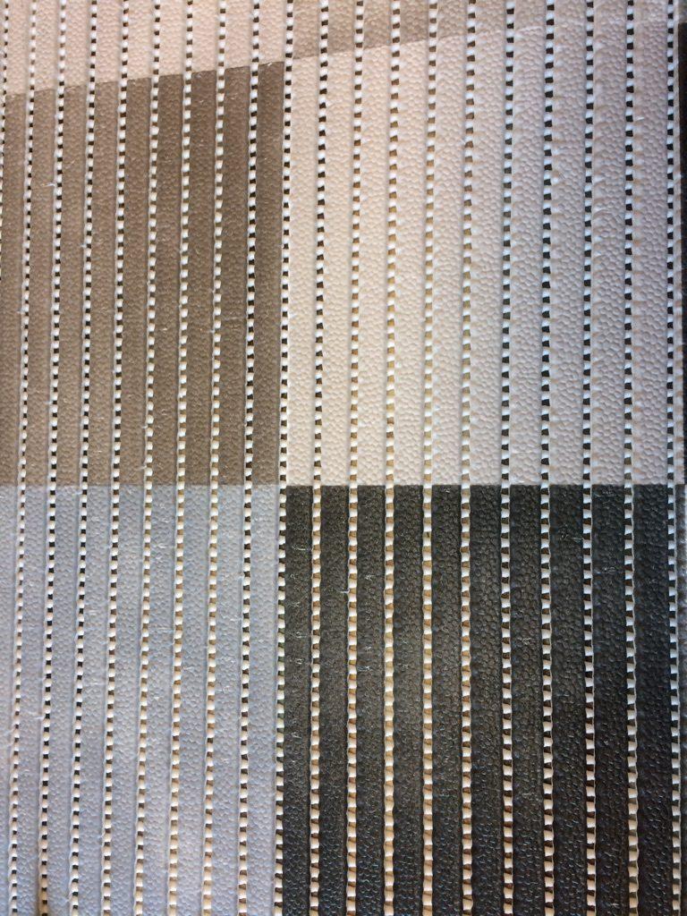 Skumtæppe kube grå