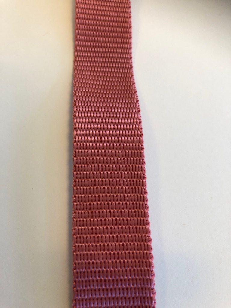 Gammel rosa polypropylengjord
